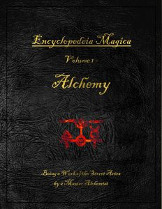 Encyclopedeia Magica Volume 1 Alchemy